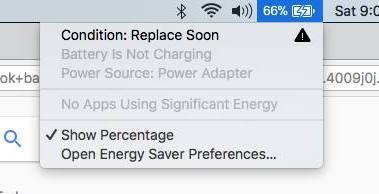 Macbook Battery Replacement Warning - KissMyMac