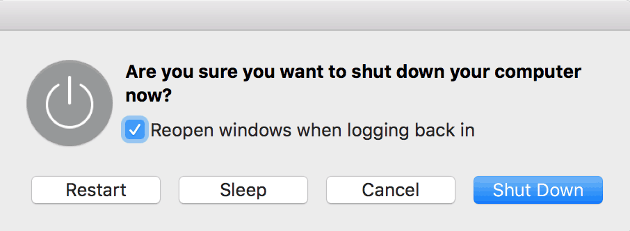 Should you shut down your Mac?