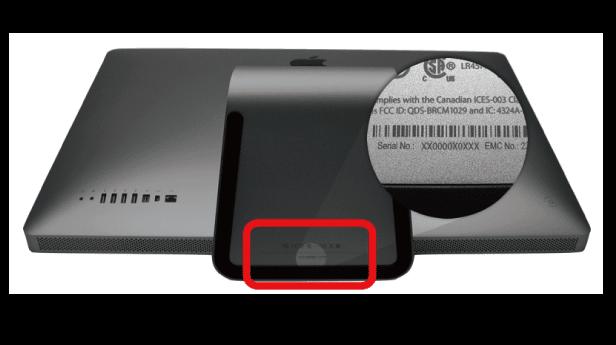 imac serial number